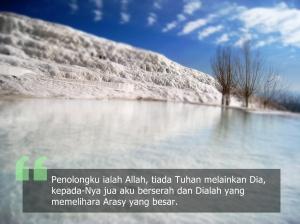 doa berserah diri